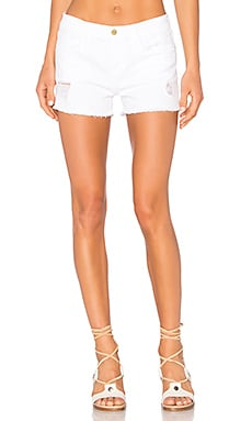 Le Cutoff Short in Blanc Taffs