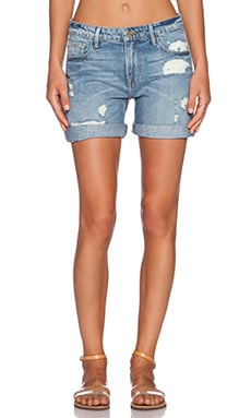 FRAME Denim Le Grand Garcon Short in Maxella