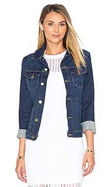 FRAME Denim Le Slim Jacket in Shore Coast