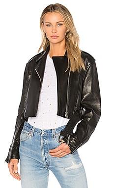 Crop Moto Jacket