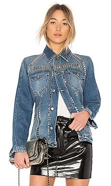 Denim Le Studded Jacket FRAME $270 Collections