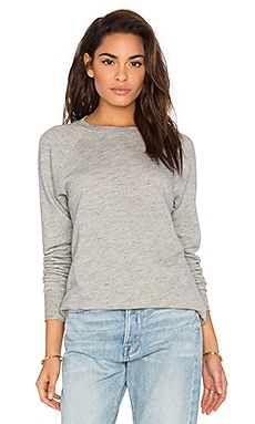FRAME Denim Le Sport Sweatshirt in Gris