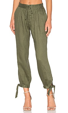 Drawstring Pant in Army
