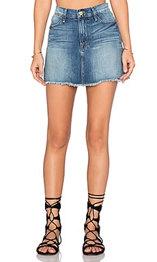 FRAME Denim Le High Mini Skirt in Federal