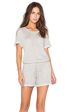 FRAME Denim Le Romper in Gris