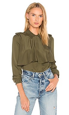 Mixed Military Shirt