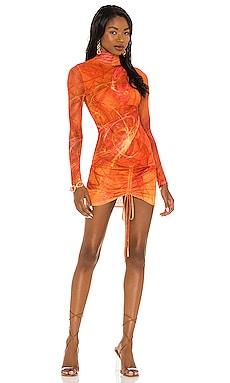 X REVOLVE Long Sleeve Mini Dress Farai London $192 NEW