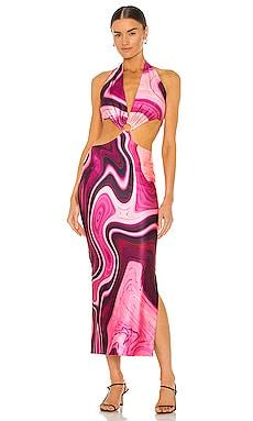 Gaia Long Dress Farai London $129 NEW