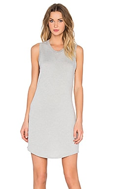 Feel the Piece Jules Tank Dress in Heather Grey