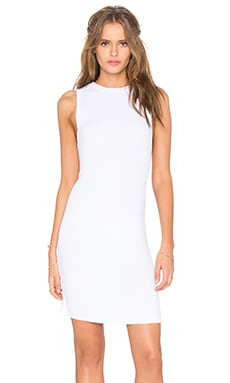 Josie Tank Dress in White