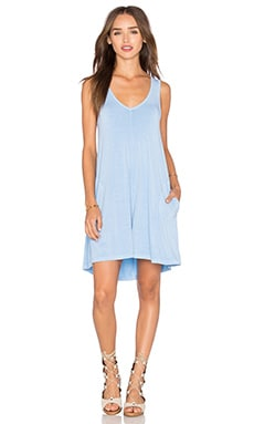 Freebird Tank Mini Dress in Skyline