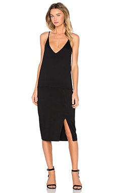 Jazzy Bodycon Dress in Black