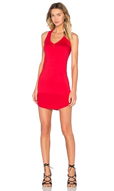 Feel the Piece Kendalson Tank Dress in Red Hot