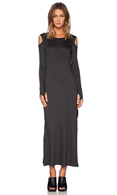 Feel the Piece Jayda Maxi Dress in Charcoal