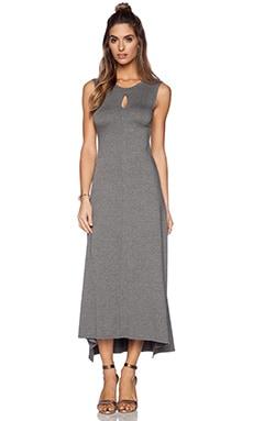 Feel the Piece Salma Maxi Dress in Medium Heather