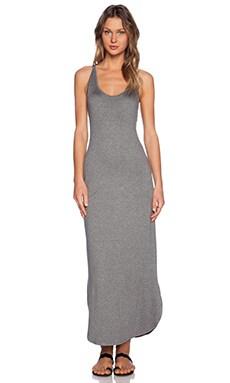 Feel the Piece Trudy Maxi Dress in Medium Heather