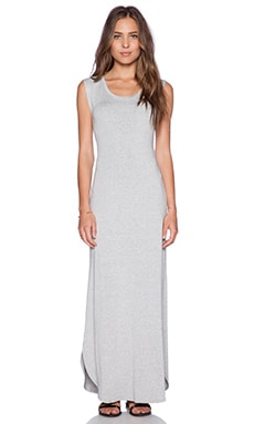 Feel the Piece Crista Maxi Dress in Heather Grey