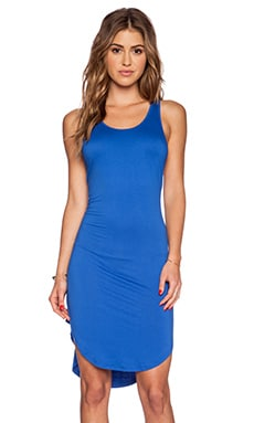 Feel the Piece Robby Dress in Miami Blue