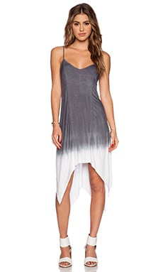 Feel the Piece Evie Dress in Sea Dye Grey