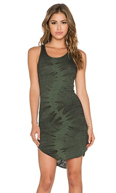 Feel the Piece x Tyler Jacobs Vixen Dress in Army Burnout