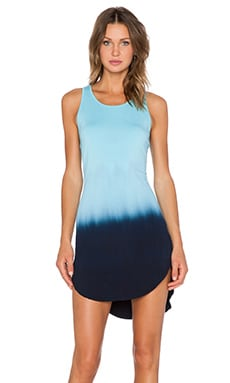 Feel the Piece Robby Dress in Sea Dye Blue