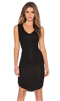 Feel the Piece Varla V Neck Dress in Black