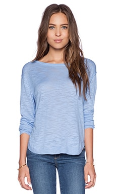 Feel the Piece Sami Sweater in Chambray