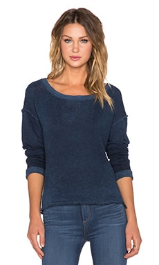 Feel the Piece x Tyler Jacobs Maria Sweater in Navy