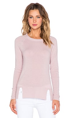 Feel the Piece Esher Crew Neck Sweater in Dusty Pink