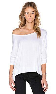 Feel the Piece Demeter Side Zip Sweater in White