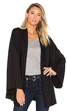 Feel the Piece Nara Cardigan in Black