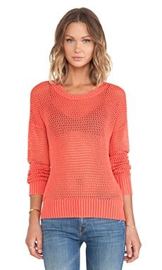 Feel the Piece Poppy Sweater in Strawberry