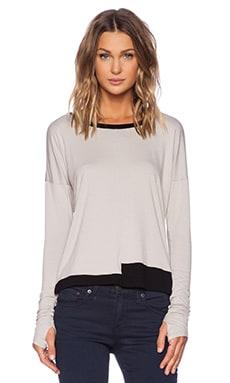 Feel the Piece Palmer Sweater in Moon & Black