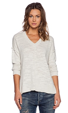 Feel the Piece Maggie Sweater in Fog