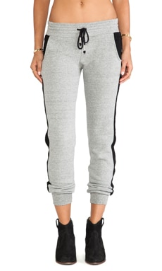 Feel the Piece Karlina Pant in Heather Grey & Black