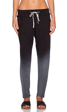 Feel the Piece Shinoda Sweatpant in Laundered Black