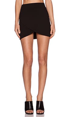 Feel the Piece Kora Mini Skirt in Black