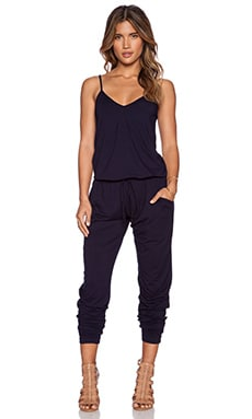 Feel the Piece Loren Jumpsuit in Navy