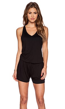 Feel the Piece Benson Romper in Black
