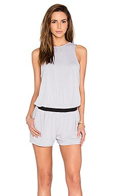 Feel the Piece Tegan Romper in Morning Mist