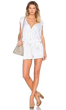 Feel the Piece Jacobi Romper in Fracture Wash