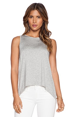 Feel the Piece Suvi Tank in Heather Grey