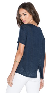 Feel the Piece Raeburn Top in Navy