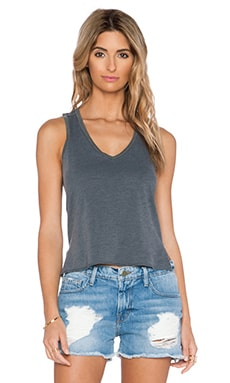 Feel the Piece Banks Tank in Off Black