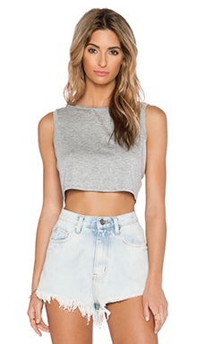 Feel the Piece Miya Tank in Heather Grey