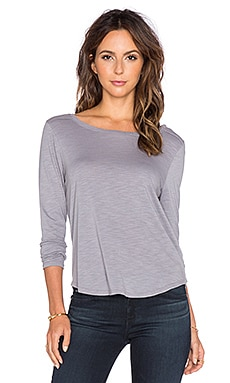 Feel the Piece Gibson Long Sleeve Tee in Beachstone