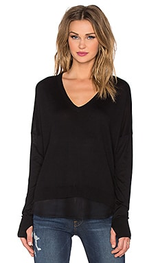 Feel the Piece Cypress Top in Black