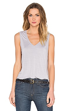 Taura V-Neck Tank in Morning Mist