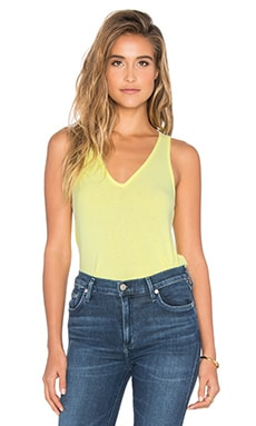 Lilith V Neck Racer Back Tank in Cactus Flower