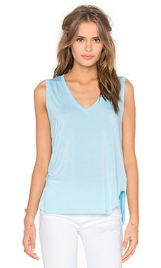Feel the Piece Taura V-Neck Tank in Saint Blue